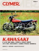 Clymer Kawasaki Z and KZ 900-1000cc Chain and Shaft Drive 1973-1981 (Includes C Series Police Models)