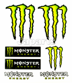 Monster Stickers 12x9,5cm