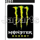 Monster Sticker 12x9.5cm
