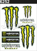 Monster Sticker 12x9,5cm
