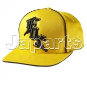 Fox Cap Flexfit Midnight Geel L/XL