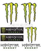 STICKERKIT BOOSTER, MONSTER (14x16)