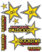 STICKERKIT BOOSTER, ROCKSTAR (20 X 24 CM).