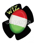 WIZ Racing Knie-Slider Italie