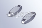 DPM Yamaha Mirrors Cover Chrome (2 pieces)