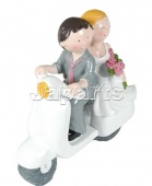 Booster Wedding Scooter 12 cm