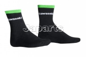 SPORTS SOCKS SHORT BLACK 31-34