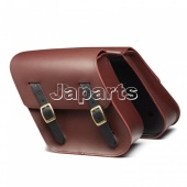 XV950 SADDLE BAGS OXBLOOD