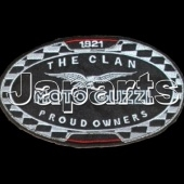 Moto Guzzi Patch The Clan