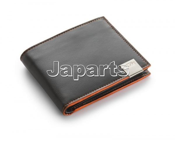 Gifts wallet ktm wallet leather japarts b v en for Yamaha leather wallet