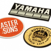 Yamaha Patches 3 pieces