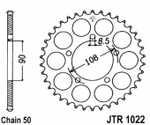 JT Rear Sprocket 1022.40