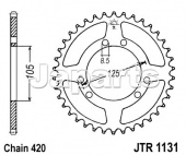 JT Rear Sprocket 1131.48