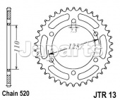 JT Rear Sprocket 1304.41