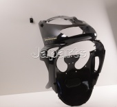 Aprilia Front Shield, E.Black+Decal SR 50 Air cooled '97-'01